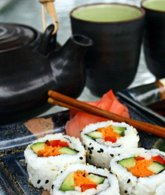 How to Slim Down Your Next Sushi Meal