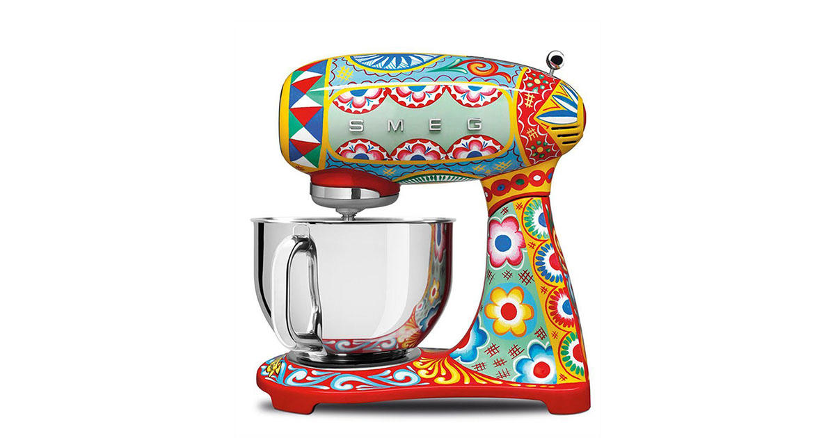 Dolce & Gabbana Is Releasing a Line of Kitchen Appliances