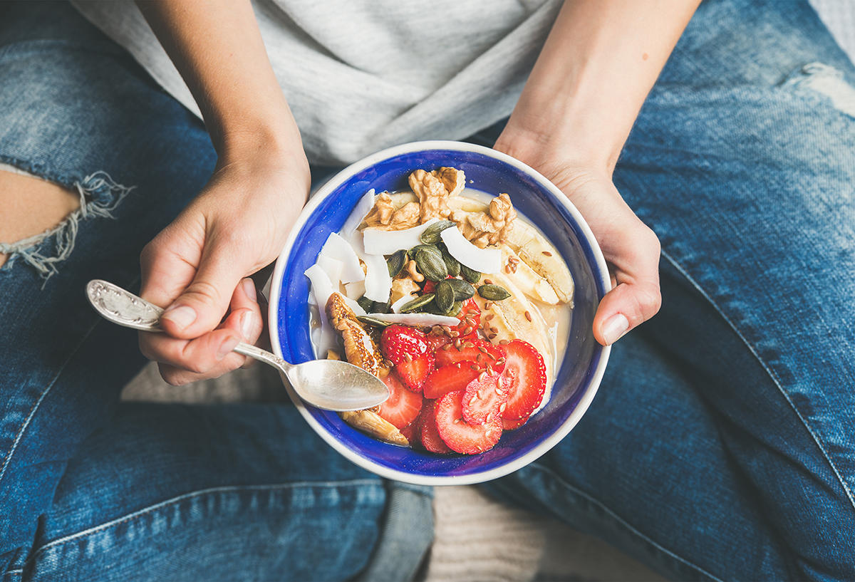 Eating a Healthy Amount of Food Can Help Keep You Young