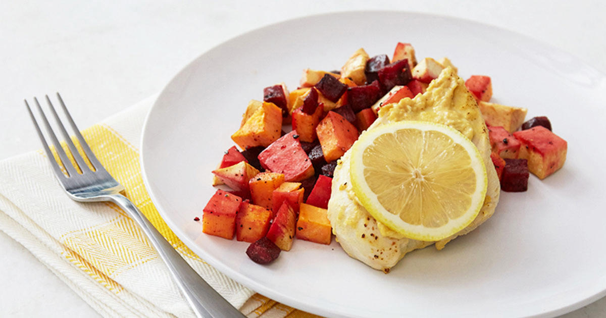 Simple Is Better with This Lemon Chicken & Roasted Root Vegetables