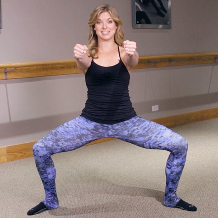 The Bye, Bye Thighs Pure Barre Workout