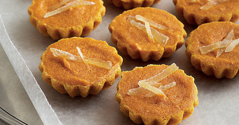 Crush Friendsgiving with These Candied Ginger Carrot Cakelets