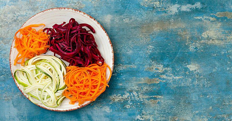 5 Foods You Probably Didn't Know You Could Spiralize