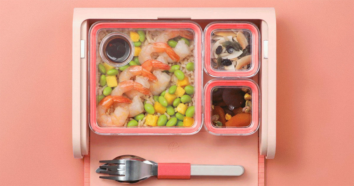 This Smart Lunch Box Will Help You Finally Get the Hang of Meal Prepping