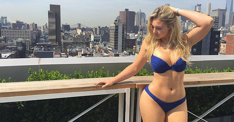 Iskra Lawrence Redefines What It Means to Be a Supermodel