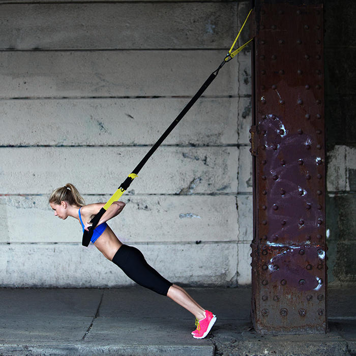 The Tone-All-Over TRX Workout