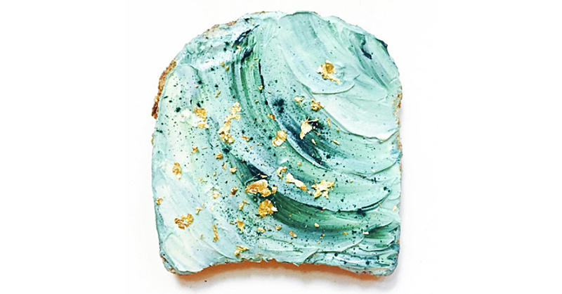 Mermaid Toast Is the New Insanely Beautiful Breakfast Trend You've Gotta Try