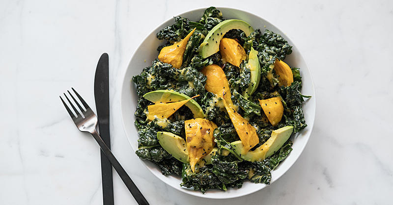 Your New Favorite Superfood Salad Featuring Kale, Turmeric, Beets, and Avocado
