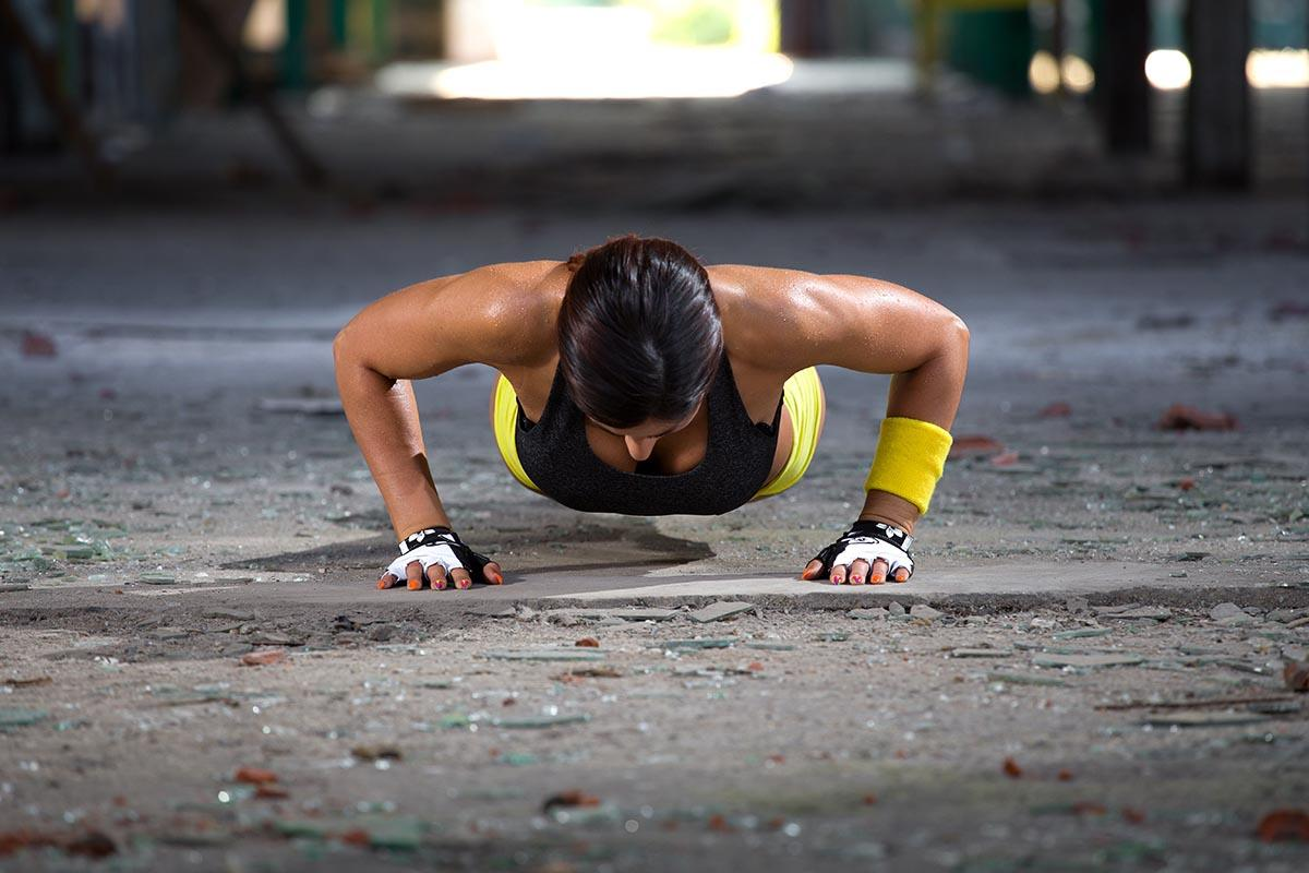 4 Plank & Plyo Moves for a Total-Body Burn