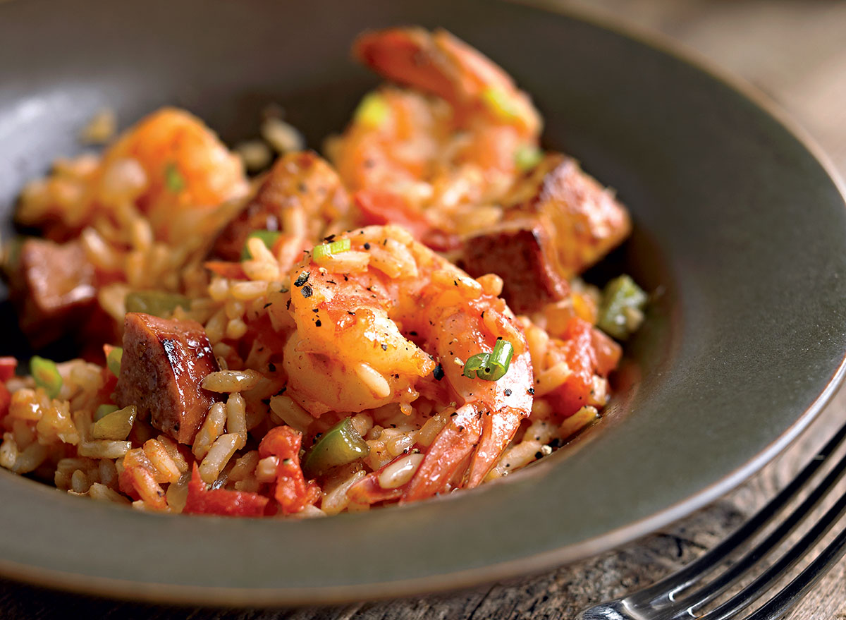 A Low-Calorie, Low-Carb Jambalaya Recipe