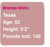 """I've taken charge of my health."" Brenda lost 140 pounds."
