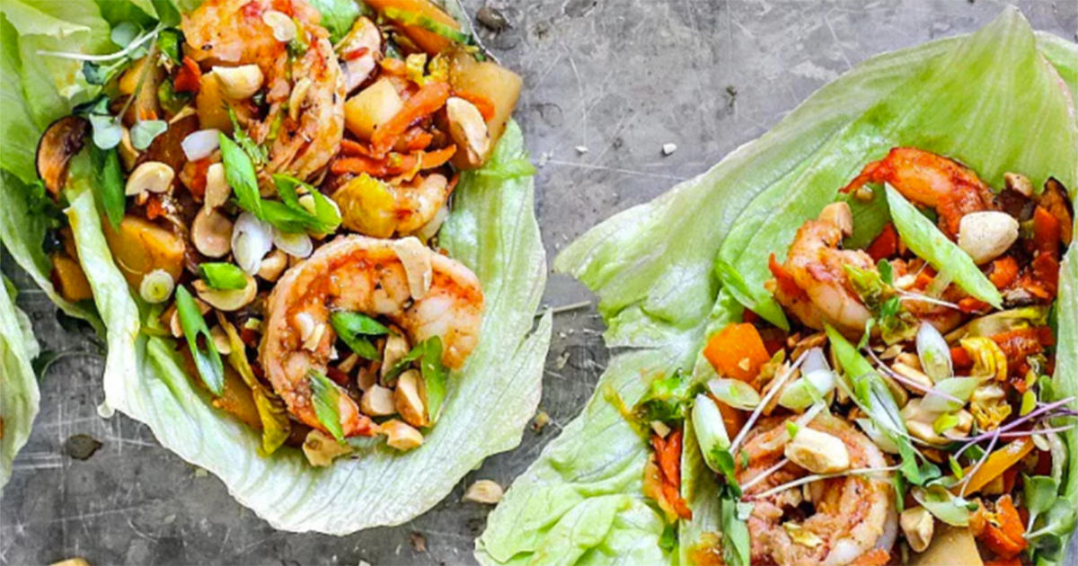 These Citrus and Soy Shrimp Lettuce Cups Are the Easy Summer Dinner You Need