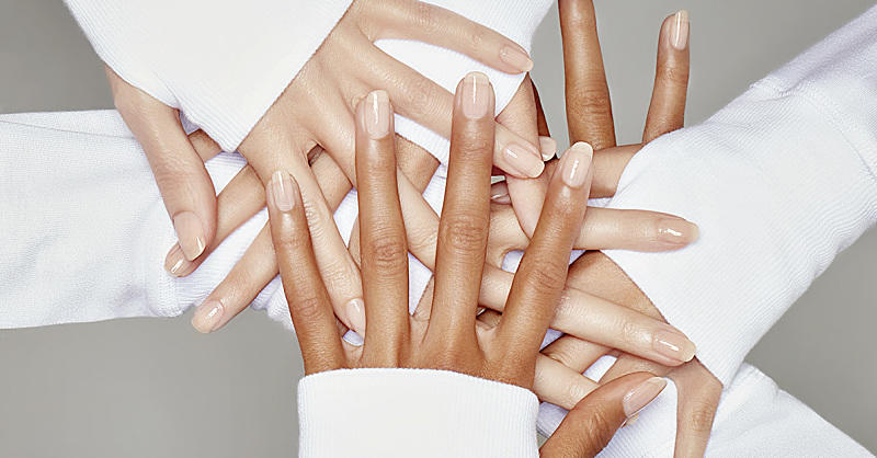 The Low-Maintenance Mani Trend That Won't Damage Your Nails