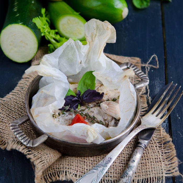 Easy Dinner Idea: Cook in a Parchment Bag