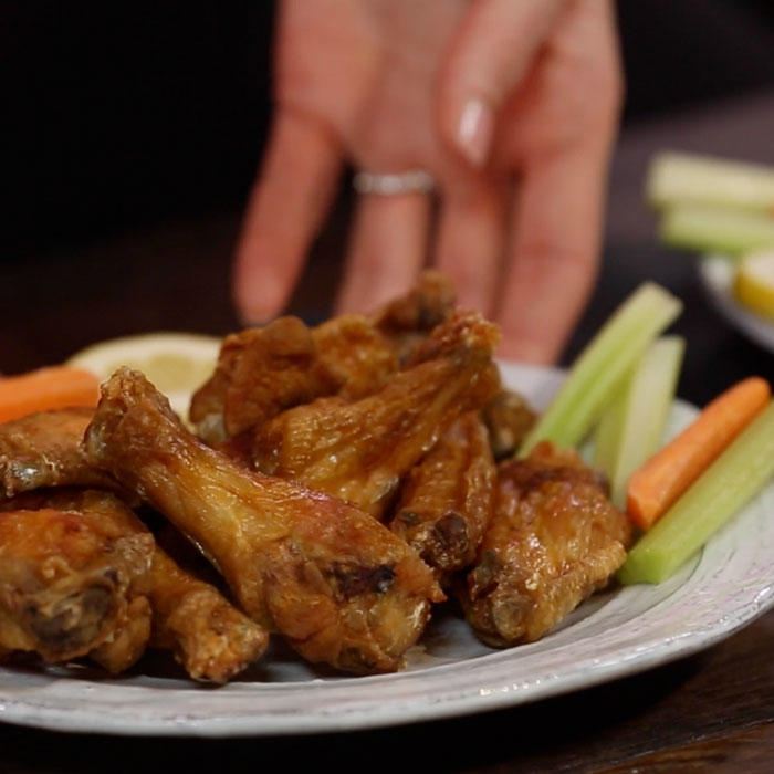 'You Ate It? Negate It!': Chicken Wings Video