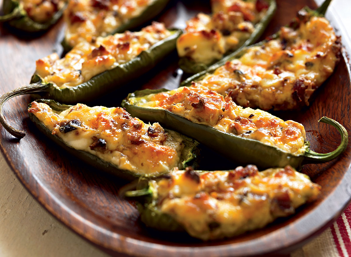 Cheese and Chorizo Stuffed Jalapeños Recipe