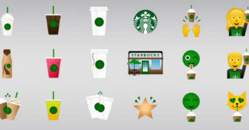 Starbucks Now Has Its Very Own Emoji Keyboard