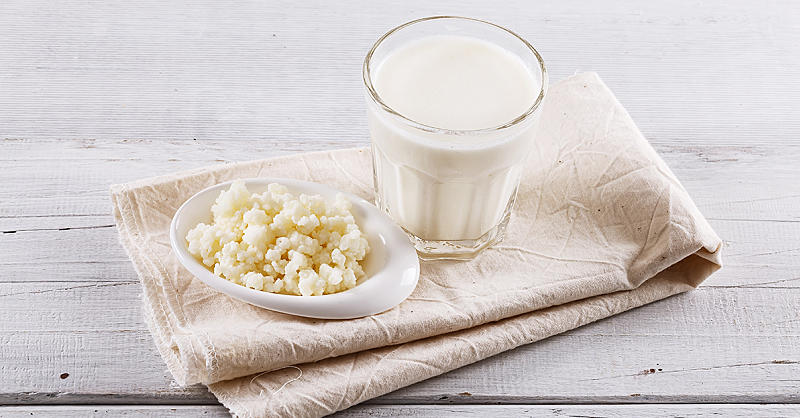 The Health Benefits of Kefir Milk