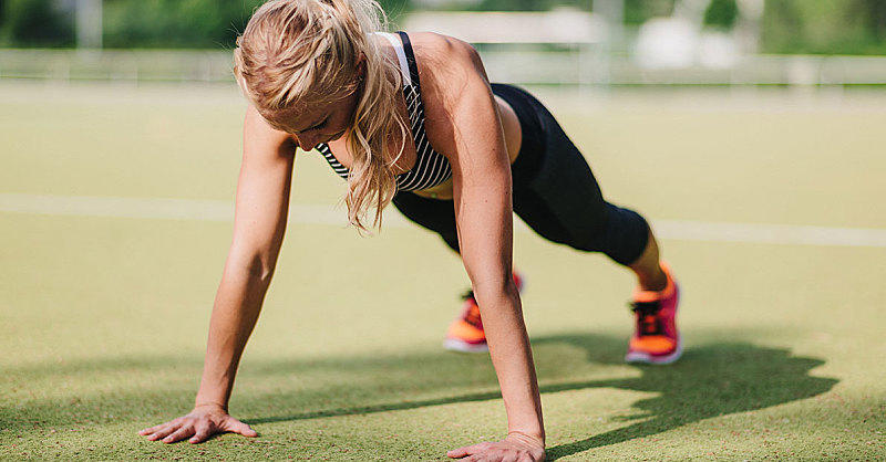 This Tabata Workout Takes Basic Moves to the Next Level