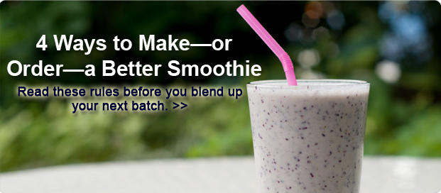 4 Easy Ways to Make Any Smoothie Better for You