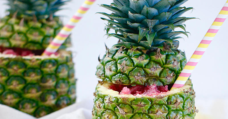 This Pineapple Cup Granita Is the Most Instagram-Worthy Healthy Treat