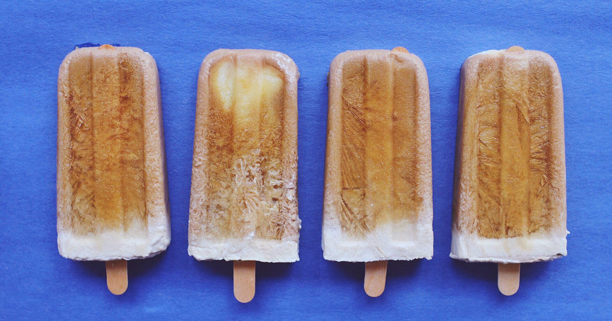 These Cold Brew Coconut Milk Popsicles Are Breakfast Perfection