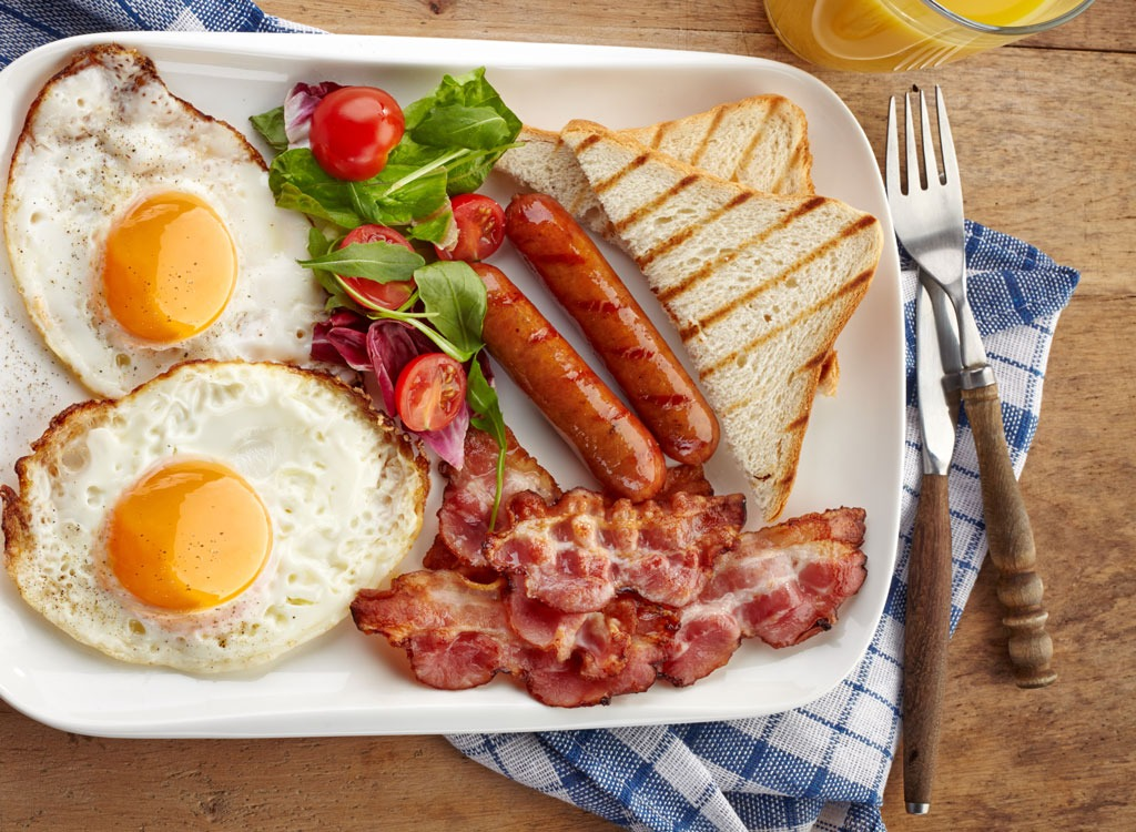 40 Worst Breakfasts to Eat After 40