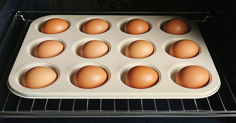How to Make Hard-Boiled Eggs In the Oven