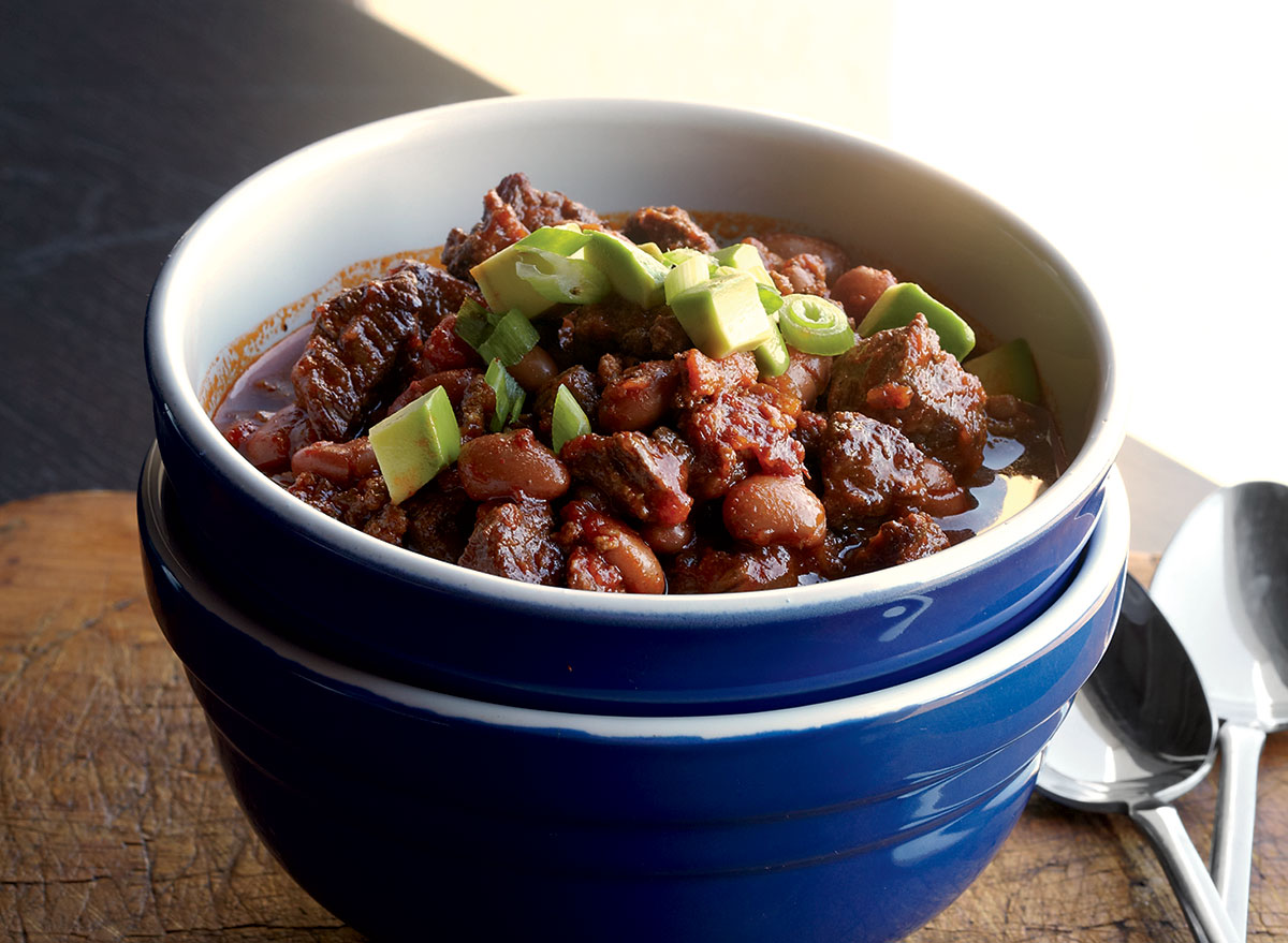 A Smoky Crockpot Chili Recipe