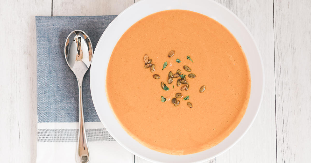 Pumpkin Chipotle Soup with Smoky Pepitas Is the Flavor Twist You Need to Try