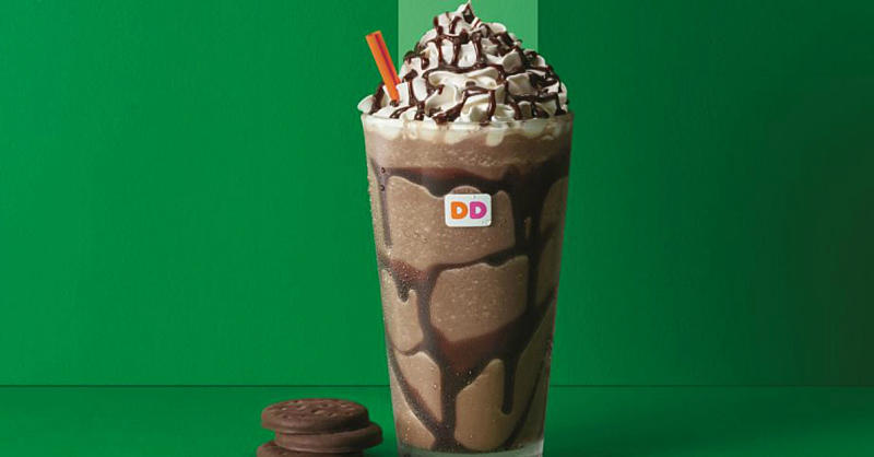 Dunkin' Donuts Is Dropping Girl Scout Cookie-Flavored Coffee