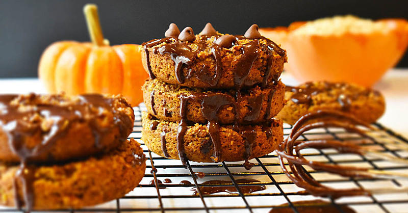 You'll Want to Make These Chocolate Chip Pumpkin Doughnuts Long After Fall Is Over