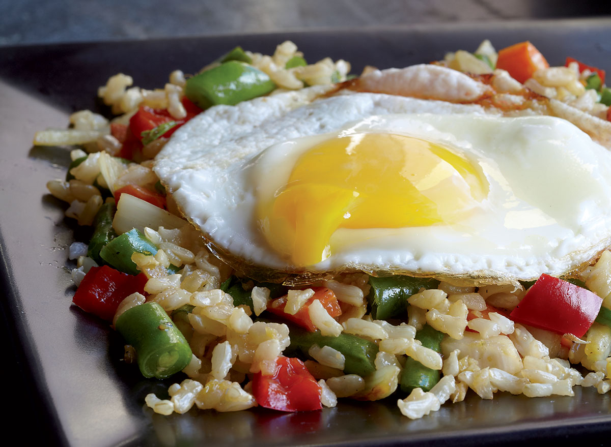 Takeout-Level Vegetable Fried Rice Recipe
