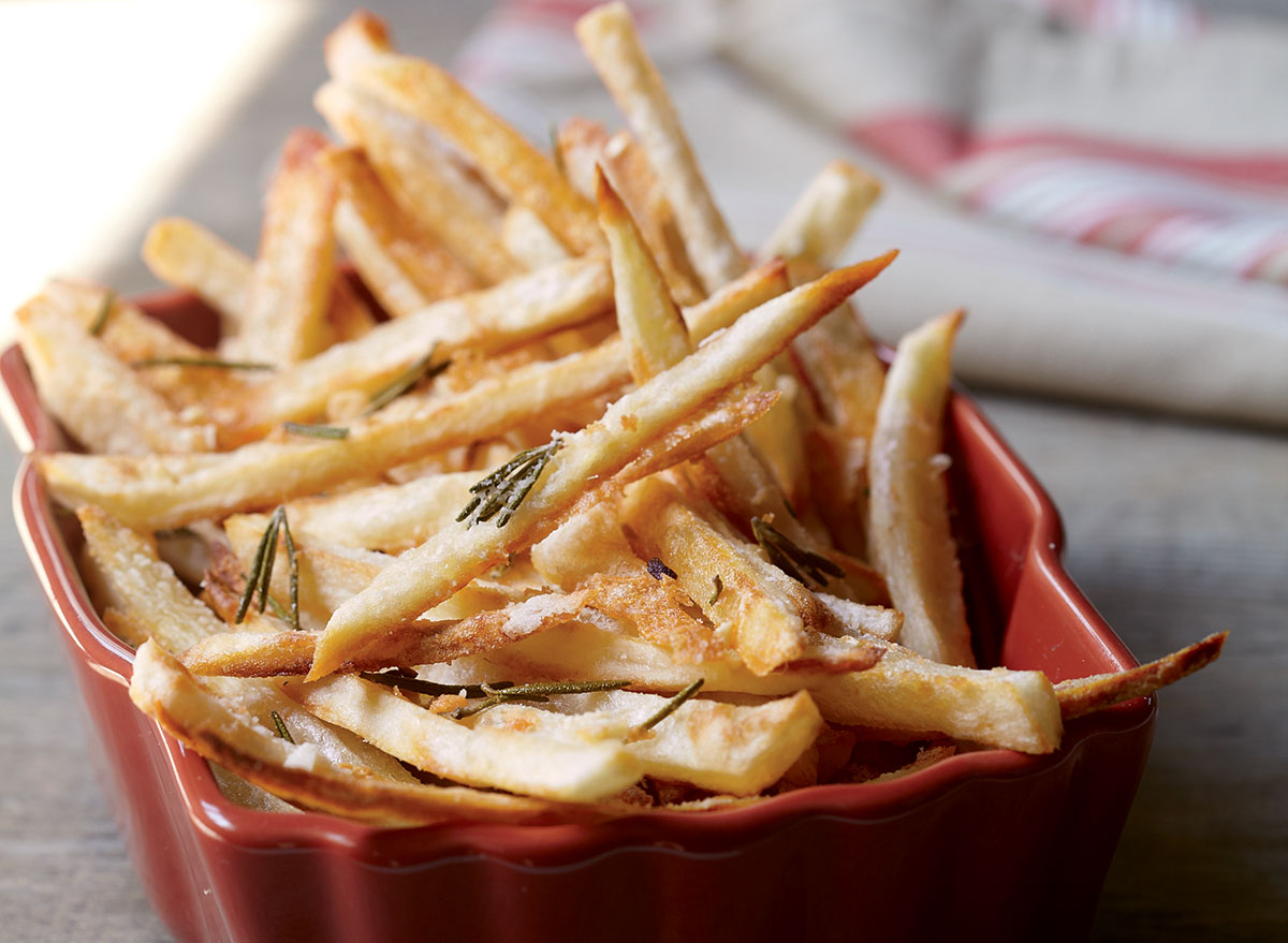 Best-Ever Oven-Baked French Fries Recipe