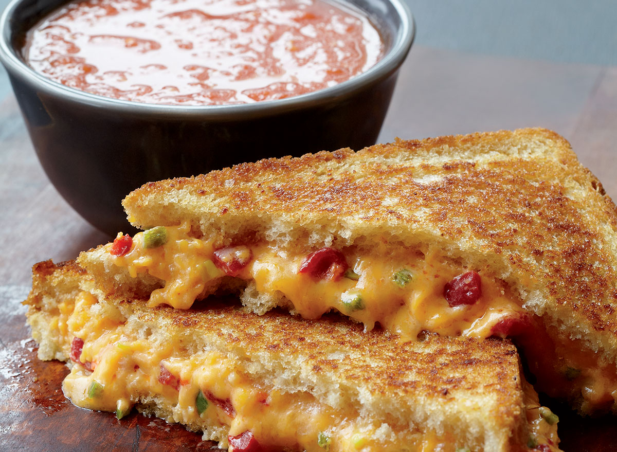 Best-Ever Classic Grilled Cheese and Tomato Soup Recipe
