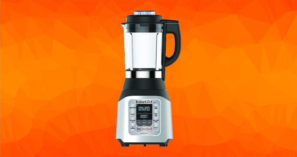 Instant Pot Just Launched a Blender That Can Cook