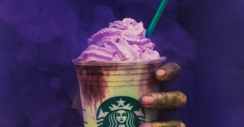 Starbucks Just Released a Zombie Frappuccino Right In Time for Halloween