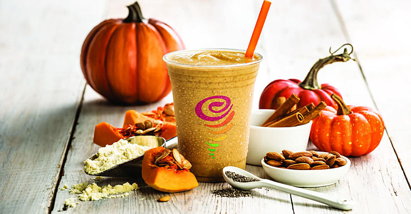 This Pumpkin Protein Smoothie Is a Healthier Swap for Your PSL Habit