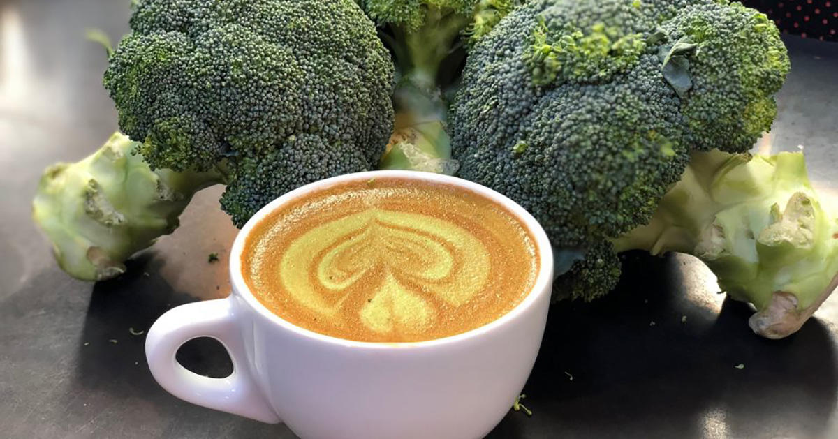Would You Add Broccoli Powder to Your Coffee?