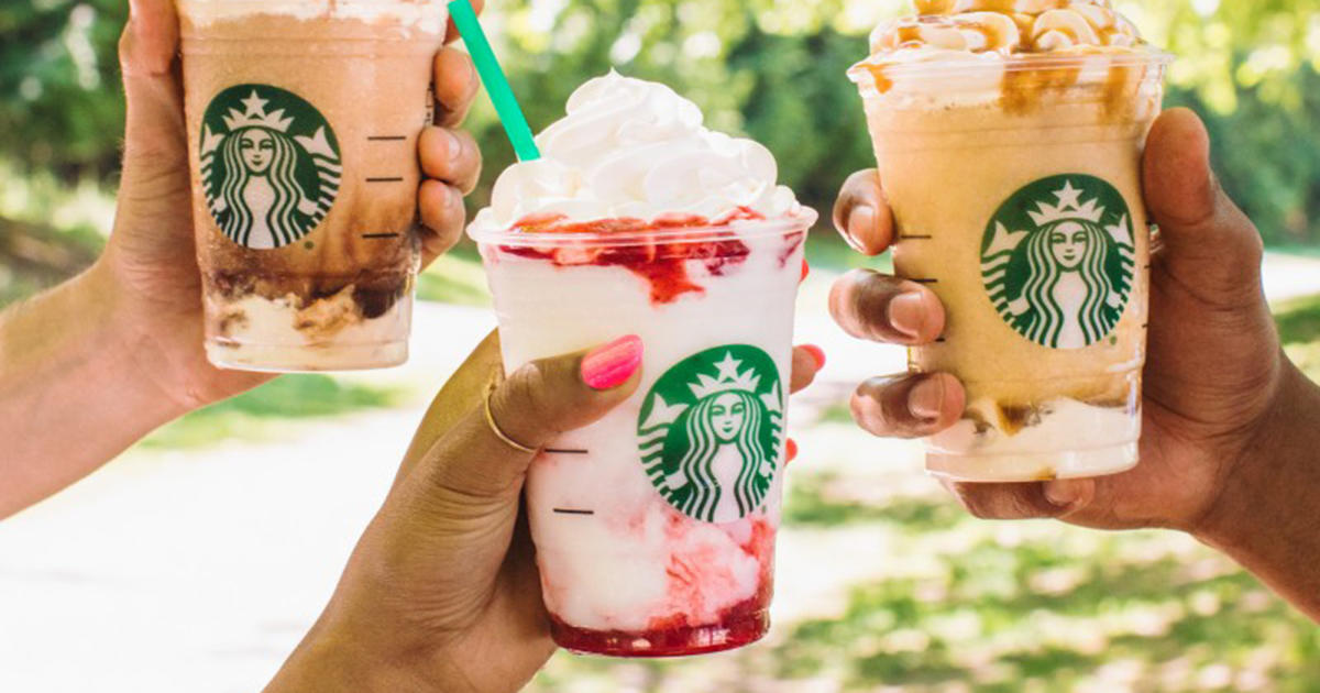 Starbucks Gave Its Strawberries & Créme Frappuccino a New Layered Look