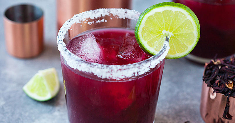 Have the Chicest Cinco de Mayo Ever with This Hibiscus Margarita Recipe