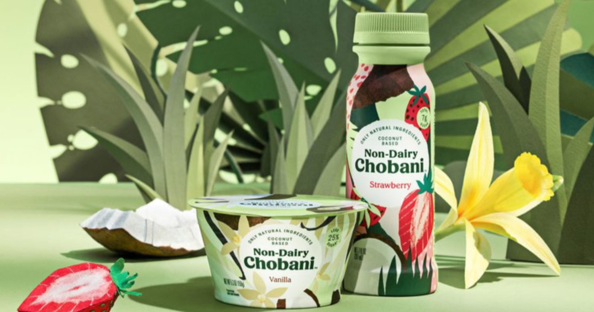 Chobani Just Launched Vegan Plant-Based Yogurt Made with Probiotics