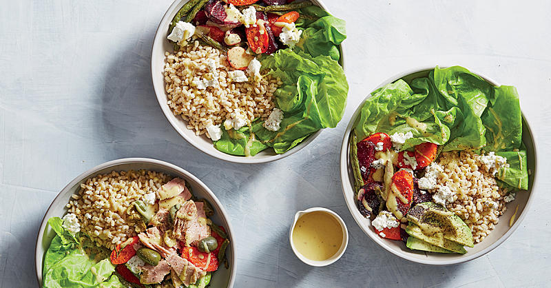 These Roasted Vegetable and Barley Bowls Prove Healthy Food Doesn't Need to Be Bland