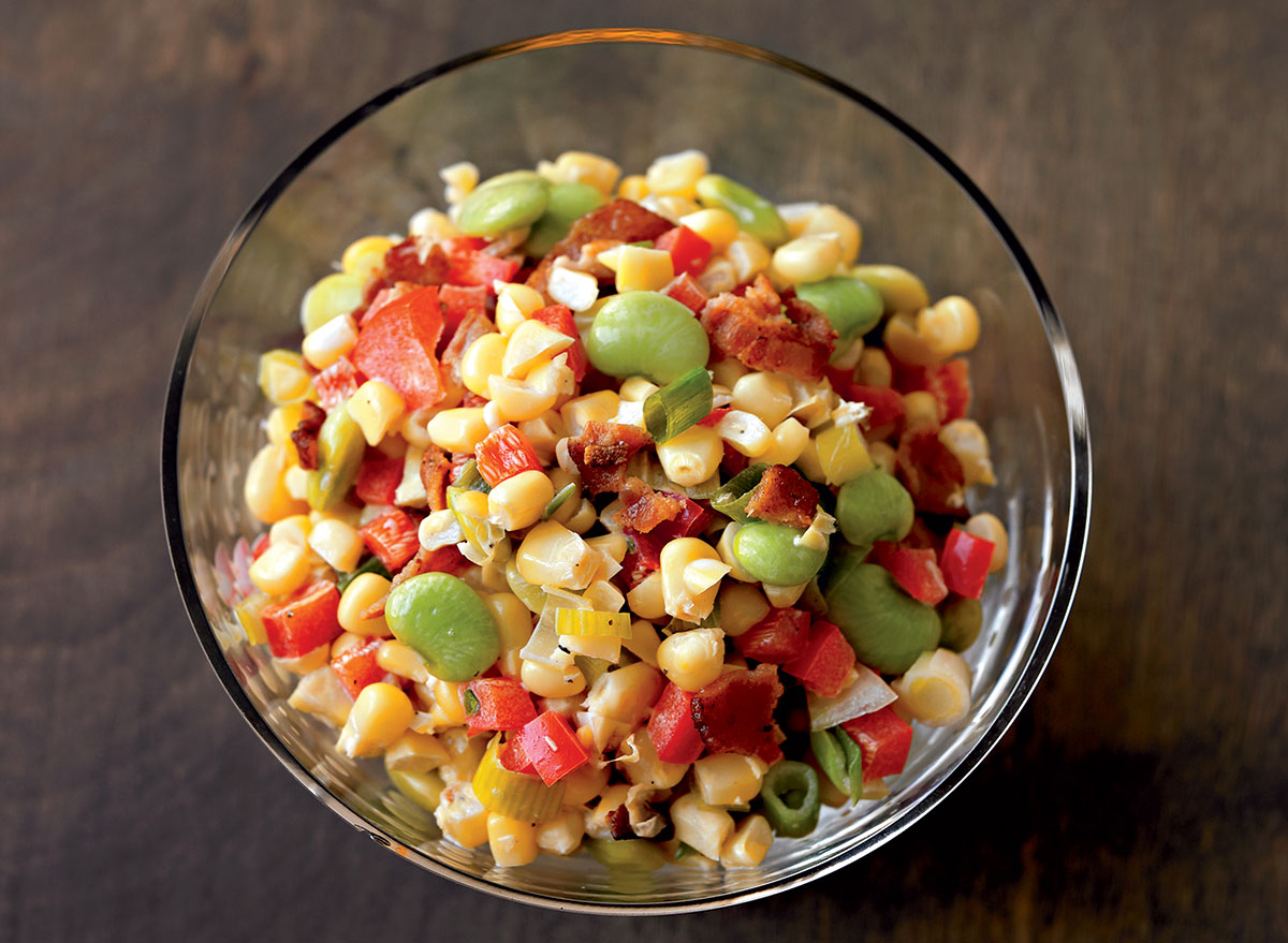 This Succotash Recipe Is the Easiest Dinner Side Dish