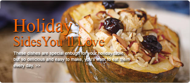Holiday Veggie Dishes You'll Love