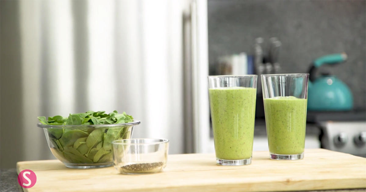 This Almond Butter Superfood Smoothie Will Start Your Day In the Best Way Possible