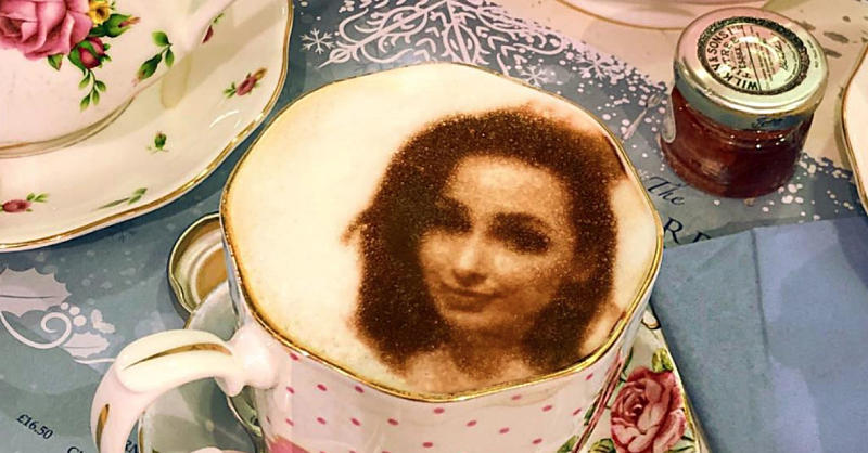 This Café Can Turn Your Selfies Into Latte Art
