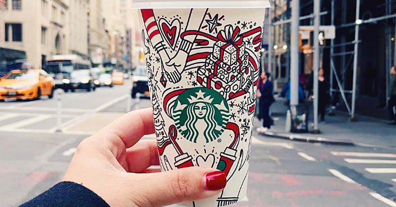 You Can Use Starbucks' Holiday Cups to De-Stress This Year