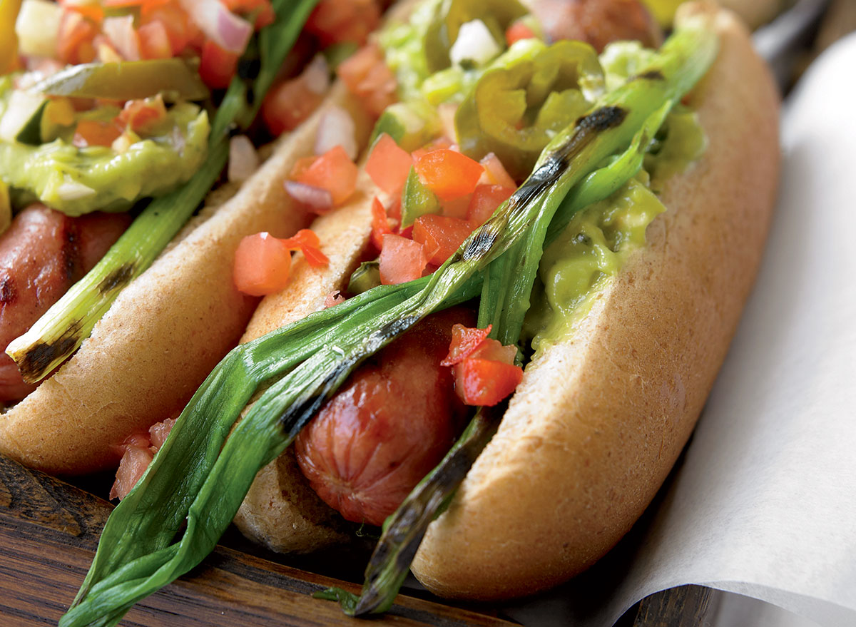 Easy and Healthy Mexican Hot Dogs Recipe