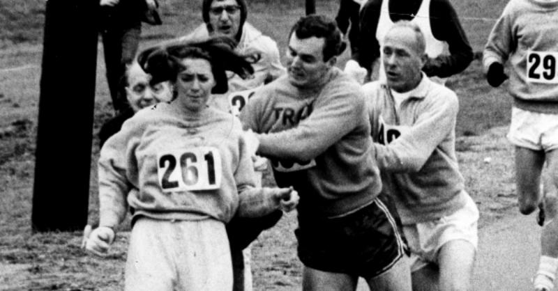 First Woman to Officially Run the Boston Marathon Runs the Race 50 Years Later